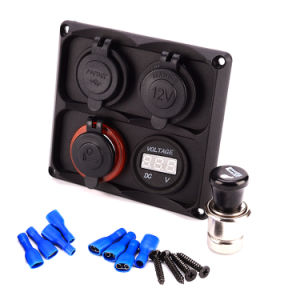 Car Marine Universal Cigarette Lighter Plug Socket Adaptor pictures & photos