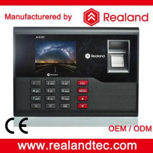 Realand 64 Bit Black Color 2.8 Inch Screen off-Line Fingerprint Time Attendance a-C121