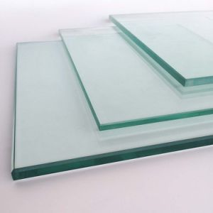Heat Strenghened Glass for Commercial Use Extra White Color pictures & photos