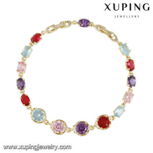 74643 Fashion Colorful Cubic Zirconia Bracelet for Women Girls pictures & photos