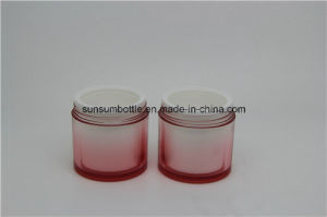 Hot Selling Plastic Cream Jar for Cosmetic Packaging pictures & photos