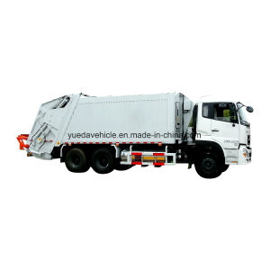 China Big Gas Garbage Truck pictures & photos