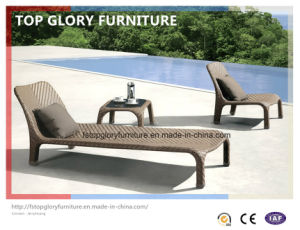 Outdoor Garden Rattan Leisure Lounger (TGLU-031) pictures & photos