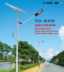 ND-R40b Solar Street Light pictures & photos