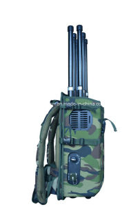 High Power 6-Antennas Portable VIP Jammer/Bomb Jammer/Military Backpack Signal Jammer pictures & photos
