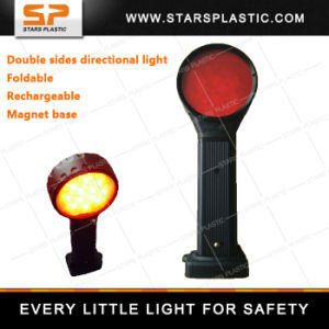 Expandable Rechargeable LED Red Directional Light for Road Safety pictures & photos