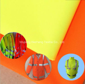 300d*300d Polyester Fluorescent Fabric for Uniform Workwear pictures & photos