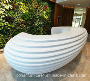 Modern and Colorful Customize Design Commercial Reception Desk pictures & photos