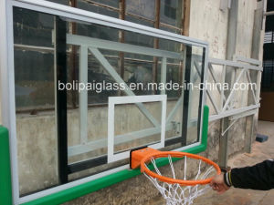 Tempered Glass Backboard Wall Side-Folding Basketball System pictures & photos