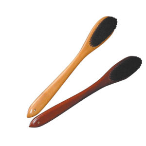 Wooden Coat Brush Clothes Brush with Round Head pictures & photos