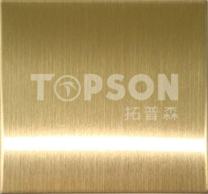 201 304 Cold Rolled Hairline Decorative Stainless Steel Color Sheet pictures & photos