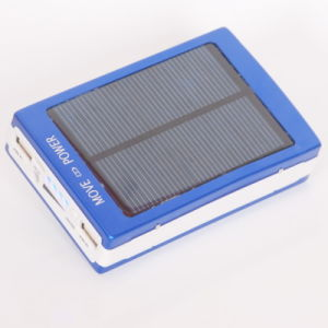 Solar Power Bank Portable for Xiaomi iPhone Mobile pictures & photos