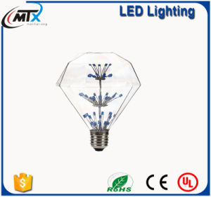 Dimmable D95 E27 8W Warm White LED Light Bulb pictures & photos