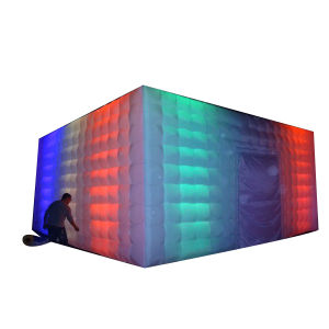 Inflatable LED Light Cube Tent for Sale pictures & photos