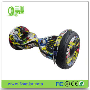 Professional Multifunctional Plastic Hoverboard and Oxboard with LED Light pictures & photos