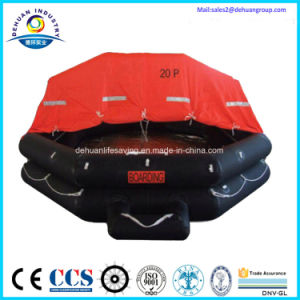 Throw-Over Type 15 Person Inflatable Liferaft pictures & photos