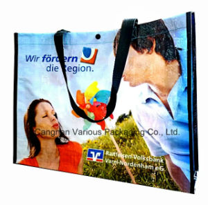 Custom Shopping Tote Bag with Cmyk Printing pictures & photos