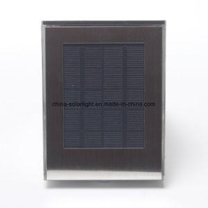 Outdoor Silver Grey PIR Sensor Solar Wall Lamp Solar Pathway LED Light pictures & photos