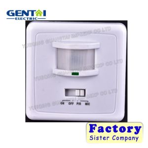 Good Quality Competitve Wall Install Infrared Motion Sensor (T01B) pictures & photos