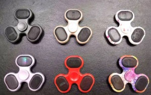 Finger Gyro Hand Spinner Stress Relieving Bluetooth Finger Spinner Fidget Toy pictures & photos