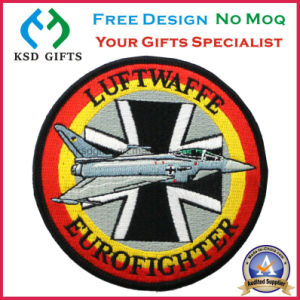 Airplane Logo OEM, 100% Embroidered, Iron on Backing Cloth Garment Accessory pictures & photos