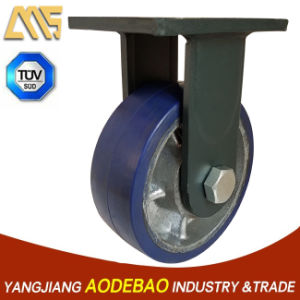 Extra Heavy Duty Fix Type Rubber Caster Wheel pictures & photos