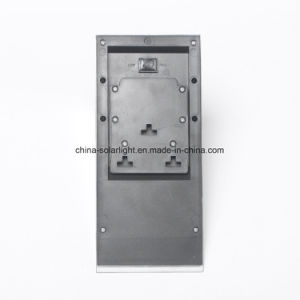 Silver Grey PIR Sensor Solar Wall Lamp Solar Pathway Light pictures & photos