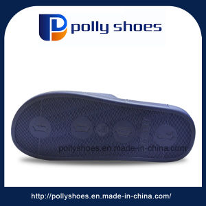 Print Logo Slippers for Hotel House Man′s Slipper Open Toe pictures & photos