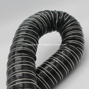 Silicone Glass Fiber Fabric Wire Reinforced Air Flexible Hose pictures & photos