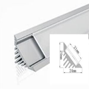 2424 Diffuser Extrusion Channel LED Linear Light LED Aluminium Profile pictures & photos