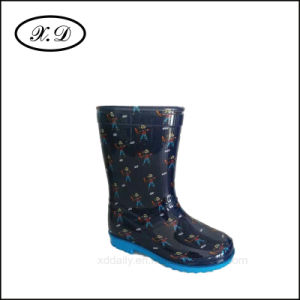 Fashion Rain PVC Boots for Kid pictures & photos