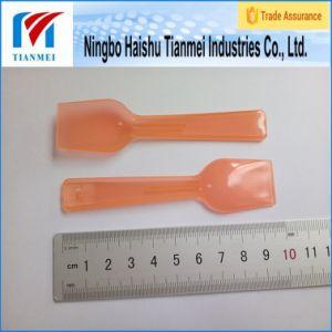 97mm Transparent Plastic Shovel Spoon / Frozen Yogurt Spoon pictures & photos