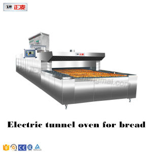 Hot Air Arabic Pita Bread Baking Cookies Electric Bakery Conveyor Ovens Tunnel Oven (ZMS-4D) pictures & photos