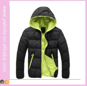 2016 Wholsale High Quality Hooded with Zipper Men Winter Jacket pictures & photos
