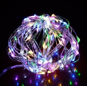 USB Sliver Copper Wire String Light 10m100LED for Christmas Decoration pictures & photos