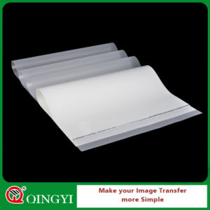 Qing Yi Cold Peeling Glossy White Mylar Pet Film for Sticker pictures & photos