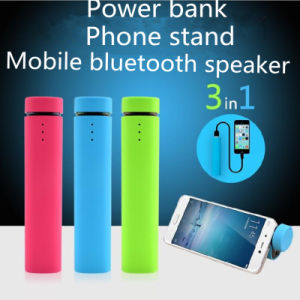 4000mAh 3 in 1 Power Bank with Stand and Bluetooth Speaker pictures & photos