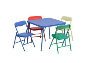 Wholesale Children Furniture Folded Kids Chair Table Set pictures & photos