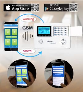 APP Intelligent Wireless Home Security Home GSM Alarm System pictures & photos