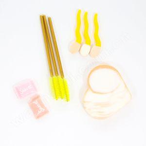 Washami 7PCS Makeup Tools Professional Powder Puff & Makeup Brushes Manufacturer pictures & photos