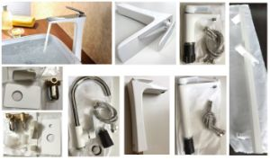 Anticorrosive Modern Bathroom First Quality Succinct Hardware Set pictures & photos