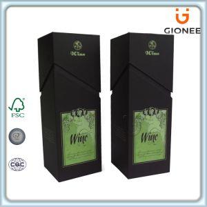 Custom Printed Hard Cardboard Wine Packaging Box pictures & photos
