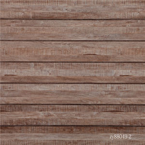 Straight Wood Grain Strips Flooring Paper pictures & photos