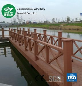 Colourful Wood Plastic Composite Outdoor Fencing pictures & photos