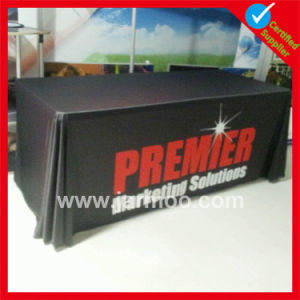 Durable Advertising Polyester Table Cloth with Printing pictures & photos