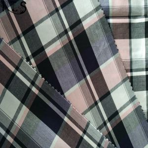 100% Cotton Poplin Woven Yarn Dyed Fabric for Shirts/Dress Rls50-28po pictures & photos
