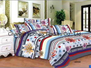 Poly/Cotton High Quality Lace Home Textile Bedding Set pictures & photos