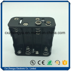 8AA Battery Holder with 9V Snap Connector pictures & photos