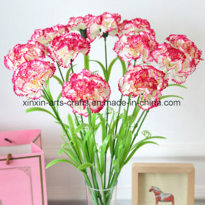 Factory Wholesale Artificial Carnation Flowers Fake Flowers pictures & photos