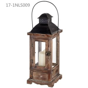 Antique Vintage with Small Door and Pedestal of Wooden Lanterns pictures & photos